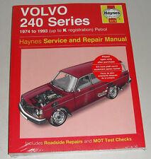 Manual de Reparaciones Volvo 240 242 244 245 , a Partir Año Fab . 1974