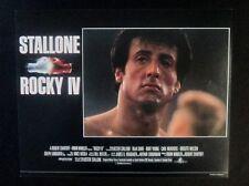 1985 Original Rocky IV Classic Boxing 11x14 Movie Lobby Card Sylvester Stallone