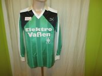 Borussia Mönchengladbach Puma Langarm Matchworn Trikot 1987/88 + Nr.7 Gr.S