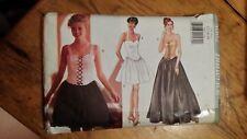 Vintage Butterick Ladies Formal Dress Pattern 4002 Size 12-14 Free Shipping
