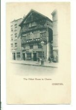Postcard Chester The oldest House
