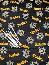 NFL PITTSBURGH STEELERS CAMO 100% COTTON FABRIC-1 yard-36x44-PLUS BONUS ELASTIC!
