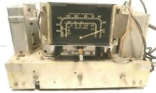 Vintage * RCA 6BT RADIO TOMBSTONE BATTERY Radio: Untested CHASSIS w/ 5 TUBES