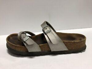 Birkenstock Mayari Womens Sandal Silver EUR38 US7 M