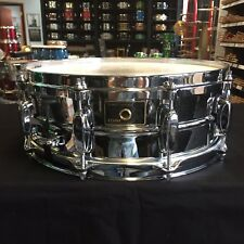 Tama Stewart Copeland Signature Palette 14x5 Chrome Over Brass Snare Drum Japan