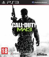 Call of Duty: Modern Warfare 3 MW3 PS3 (disc only)