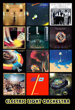 "ELECTRIC LIGHT ORCHESTRA album discography magnet (4.5"" x 3.5"")  ELO jeff lynne"