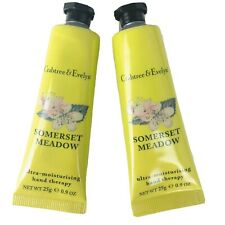 Crabtree & Evelyn Somerset Meadow Hand Therapy Lot of 2 Sealed New 0.9/25g each