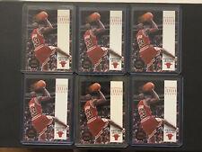 1993-94 Michael Jordan Skybox Premium #45 - Chicago Bulls - 6 Card Lot