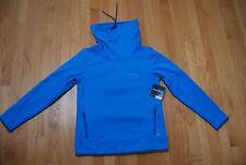 NWT BLue EDDIE BAUER FreeHeat Fleece Lined T-Neck Sweatshirt Small