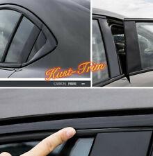 Fits 2018-2020 Mazda 6 Black ABS Car Window Strip Cover Trim 10PCS