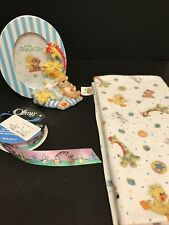 New listing New Suzy Zoo Picture Frame Adorable Baby Nursery With Blanket And Ribbon Lot
