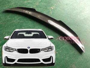 Carbon Fiber BMW 2014~2019 F82 M4 coupe 2-Door V type Trunk Spoiler ◎