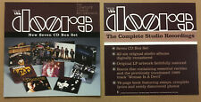 The Doors Rare 1999 Set of 2 Double Sided Promo Poster Flat for Box Set Cd Mint