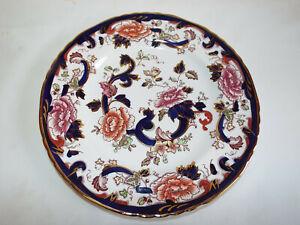 Excellent Masons Ironstone Mandalay Blue dinner plate.