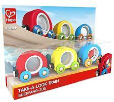 Hape TAKE-A-Look Treno Ferrovia Binari Compatibile Brio, Elc Giocattolo