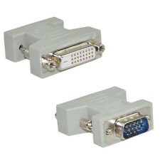 new DVI-D Female (24+1) to VGA Male (15-pin) Connector Adapter