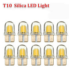 20x T10 194 168 W5W SILICA COB SMD LED Bulbs License Light 12V Amber Yellow