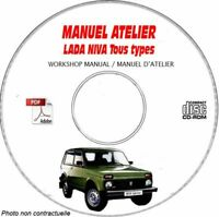 NIVA - Manuel Atelier CDROM LADA FR Expédition - --, Support - CD-ROM - DVD-ROM