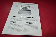 Laplant-Choate Bulldozers & Back-Fillers Dealer's Brochure RPMD