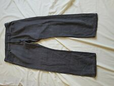 "MENS BHS GREY REGULAR FIT DISTRESSED LOOK JEANS SIZE 38"" WAIST 32"" LEG"