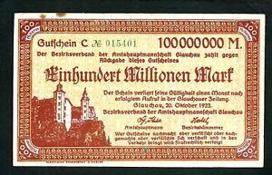Germany 100,000,000 Mark 1923 XF