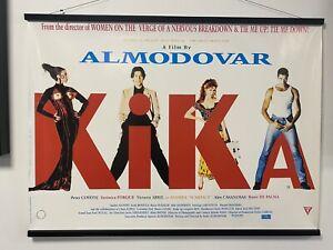 Kika, Original UK Quad Sheet Movie Poster