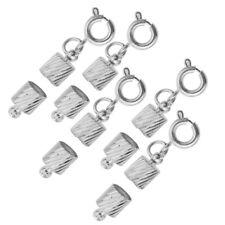 5x Splitter Überzogene Rohr Magnetverschluss Konverter Halskette DIY