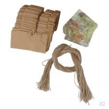 100pcs Weinlese Papier Weltkarte Süßigkeitskästen Geschenkboxen