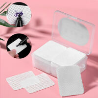 180 Pieces Square Cotton Pads Wipes for Lash Extension Adhesive Eyelash Glue