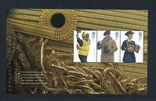 GB 2009 Booklet pane ROYAL NAVY UNIFORMS SG 2964b MNH / UMM FV£2.10
