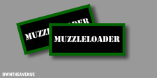 Muzzleloader Ammo Can Labels for Ammunition Case stickers decals 3.5x1.5 (2PACK)