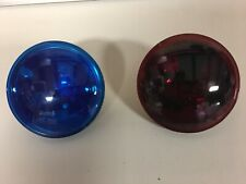 HARLEY POLICE PASSING LAMP SPOT LIGHT BULBS POLICE RED OR BLUE SOLD EACH