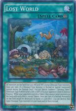 1x Lost World - SR04-EN021 - Super Rare - 1st Edition NM YuGiOh!  Structure Deck