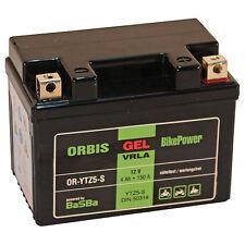 Orbis Motorradbatterie GEL 12-5ZS 4Ah 12V Starterbatterie YTZ5-S  *NEU*