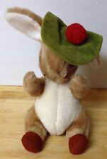 "Vintage Beatrix Potter Benjamin Bunny Eden Stuffed Animal Plush 13"" tall"
