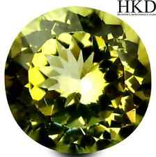 1.05 ct HKD-certified Unheated Natural Round-cut Yellow IF Tanzanite (Tanzania)