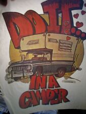 Do It In A Camper 1970's Vintage Americana Iron On Transfer Sex Nice B-2