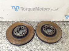 MK5 Astra VXR Front brake discs PAIR