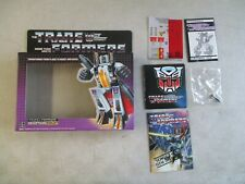 VINTAGE 1985 TRANSFORMERS DECEPTICON RAMJET BOX AND INSERTS ONLY HASBRO