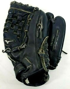 MIZUNO Prospect Full Grain Leather Black Right Hand Baseball Glove Youth 11.75