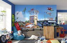 368x 254cm Papier Peint photo Mural AVIONS DE DISNEY STUDIO pour chambre garçons
