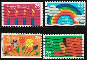Scott #2395-98 Used Set of 4, Special Occasions