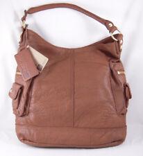 Linea Pelle Dylan Shoulder Bag BROWN