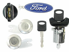 Ford Econoline 1992-1995 - Ignition Lock & 4 Door Lock Cylinder Set-2 New Keys
