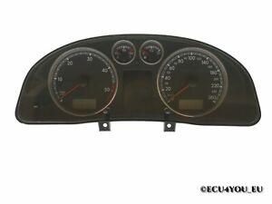 Original Volkswagen Speedometer Instrument Cluster 3B0920847E (id: 2642)