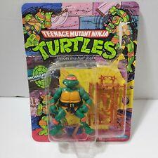 Teenage Mutant Ninja Turtles Michaelangelo 1988 Playmates Figure New Damaged Box