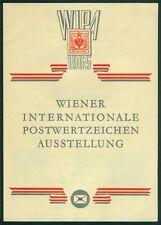 Österreich 1965 WIPA Internationale Postwertzeichen Austellung Sonderdruck