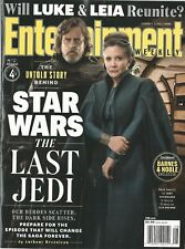 Entertainment Weekly 1492 The Last Jedi Star Wars Collector Cover 4 NM No Label