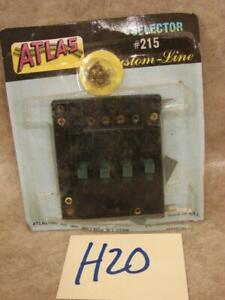 H20B VINTAGE ATLAS HO SCALE #215 SELECTOR